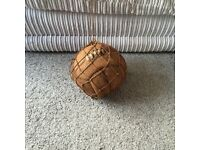 Really old football and carry net for sale