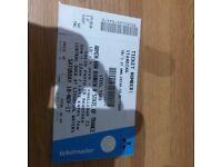 Steel Yard Ticket 18th January