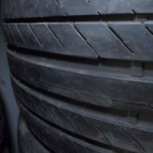 STAGGERED CONTINENTAL CROSS CONTACT SSR 315/35R20 AND 275/40R20 TIRES 80% TREAD