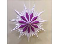 Christmas decorations stars