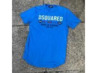 Dsquared blue t shirt