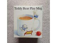Boots Teddy Bear Play Mug
