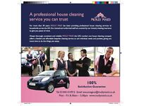Experienced Cleaner / Supervisor £9 per hour.