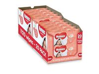 BNIB Huggies Soft Skin Baby Wipes 20 pk. With Vitamin E & soothing Shea Butter to smell great