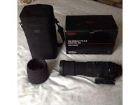 Camera Lens - Sigma 150-500mm