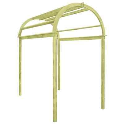 vidaXL Trellis Arch Impregnated Pinewood Garden Patio Rose Archway Pergola