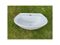 Small hand basin 45cm wide