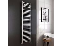 KUDOX TOWEL RAIL CHROME 600 X 1600 (RRP £150)