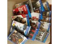 Playstation 4 (ps4) and PS3 games