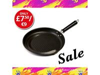 Fat reducing frying pan
