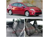 LEATHER CAR SEATCOVERS FOR TOYOTA PRIUS TOYOTA PRIUS PLUS VAUXHALL ZAFIRA TOYOTA VERSO FORD GALAXY