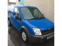 Ford transit connect 55 plate
