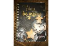 Slimming world Eat Plan and be merry Christmas journal