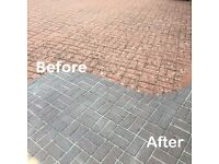 Power-washing, Driveway cleaning, Gutter cleaning, Walls, Concrete floors, Mono-blocks.