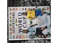 Superstars of the World Cup football book