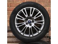 """Ford 17"""" Alloy Wheels with 235/55/17 Hankook Evo Winter Tyres will fit Kuga or Mondeo or similair"""