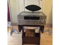 5 Speaker surround sound and Yamaha Amp
