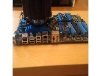 Intel Core i5 2500k Quad CPU, Asus Cooler + 8GB Kingston Ram