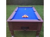 Pool table for sale £250. With slate top and no terse to the felt.