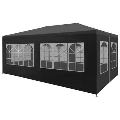 Portable Shelter Enclosure Garage Gazebo Car Port Window Canopy 10x20' Side Wall ()