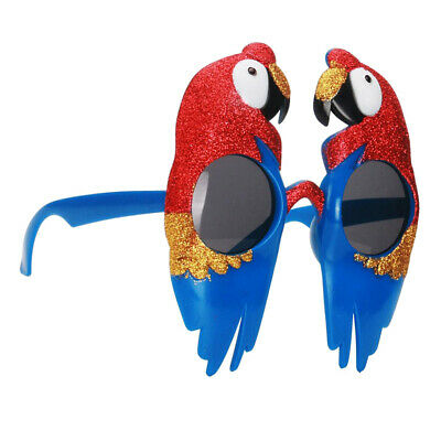 Novelty Fun Bird Parrot Sunglasses Halloween Christmas Costume Macaw - Blue Macaw Halloween Costumes