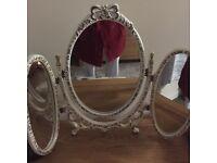 Vintage Three way Mirror