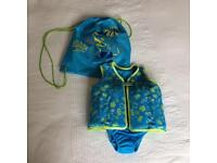 Speedo Swim Squad Swim Vest with Swim bag