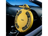 Small Disklok Steering Wheel Security Device Wanted in Bristol Area