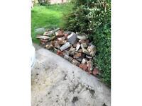 Bricks and hardcore rubble