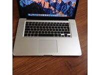 MACBOOK PRO 15 inch i7 PROFESSIONAL ,SUPPER FAST MACHINE EXCELLENT WORKING CONDITION 1TB