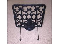 Black Cook book stand