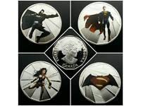 BATMAN V SUPERMAN 38MM COINS