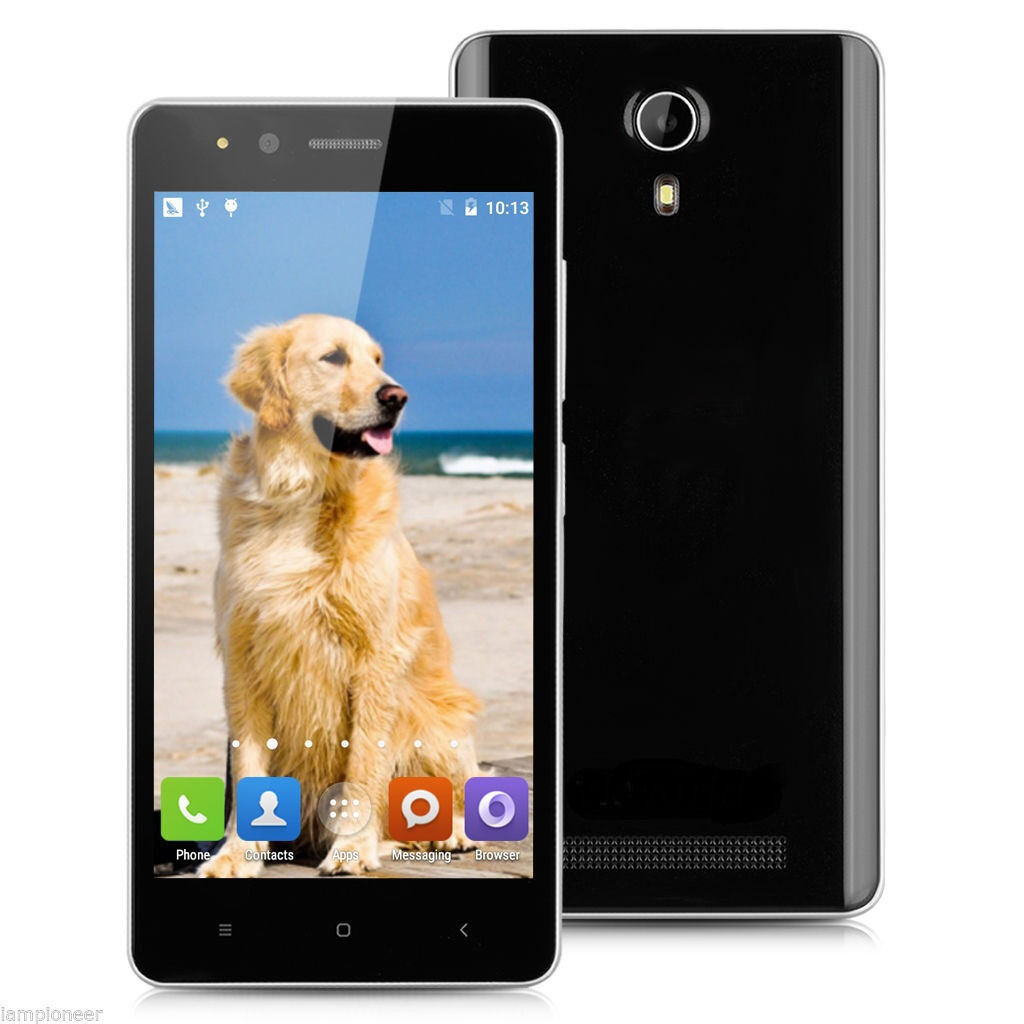 4.5 INCH 3G Smartphone Android 5.1 1.3Ghz Quad Core Dual SIM 1 8GB GPS WIFI Front/Rear camerain Leicester, LeicestershireGumtree - 4.5 F1 IPS 3G Smartphone Android 5.1 MT6580M Quad Core 1.3GHz Mobile Phone Dual SIM 1GB RAM 8GB ROM Smart Wake GPS WIFI Android 5.1 with 1.3GHz MT6580M, Cortex A7 Quad core processor and 1GB RAM 8GB ROM Support 2G network GSM 850/900/1800/1900MHz...