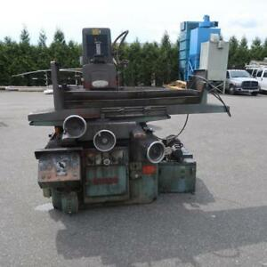 NICCO Surface Grinder W/ Magnet Table & Dust Collector