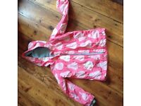 Boden girl's anorak age 4-5 years