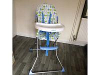 Ladybird High Chair.