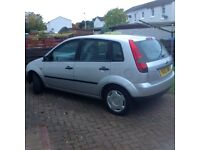 Ford Fiesta Finnesse, MOT until August 2017, only 50,000 miles, excellent condition, 52 plate