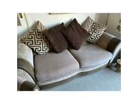 3 seated sofa plus one seated chair