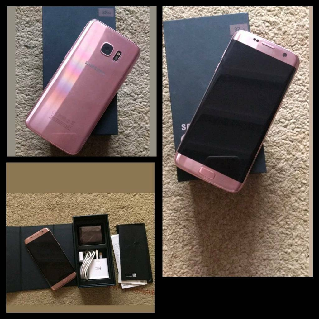 swap my samsung s7 edge rose gold for iphone 7 rose gold in thetford norfolk gumtree. Black Bedroom Furniture Sets. Home Design Ideas