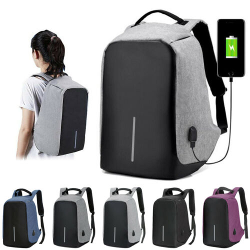 The go Anti-theft USB Charging Travel Backpack Laptop Notebook Christmas Gift