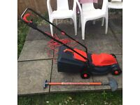 SOVERIGN Lawnmower wheeled ,Trimmer , edger in great price and good for small and big garden