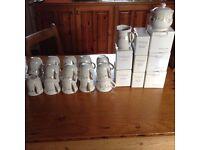 Coffee/Tea Mugs.Sugar & Milk.Salt & Pepper multiples-Ideal for landlords/B&B etc.Never used.