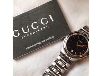 **Men's Genuine Gucci Wrist Watch **