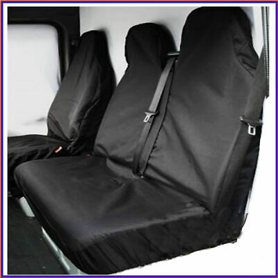RENAULT TRAFIC SPORT LUXURY VELOUR HEAVY DUTY VAN SEAT COVERS 2+1