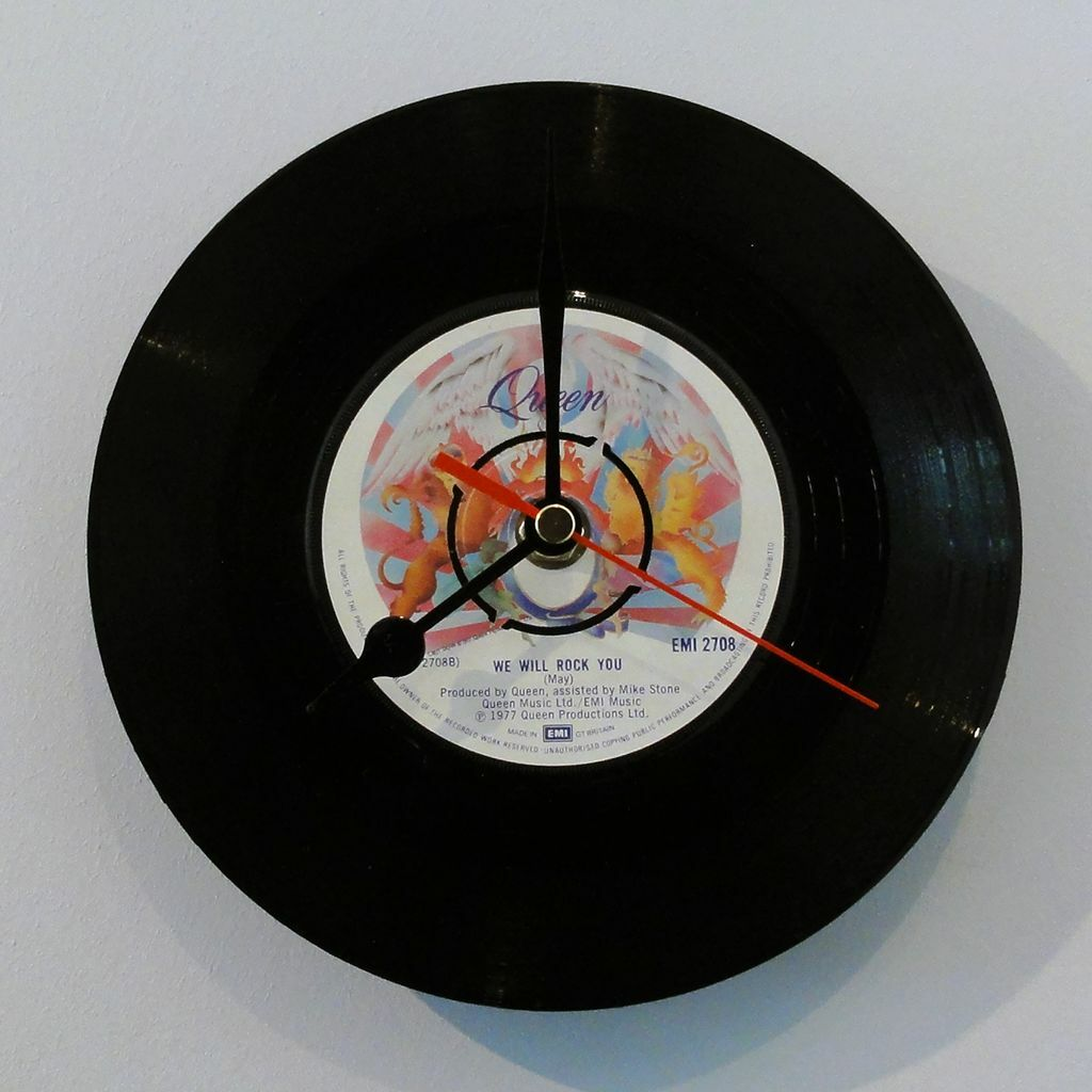 vinyl guru clock kit turn any vinyl record into a clock