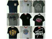 Selection of Superdry T's