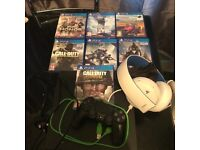 PlayStation 4 7 games headset