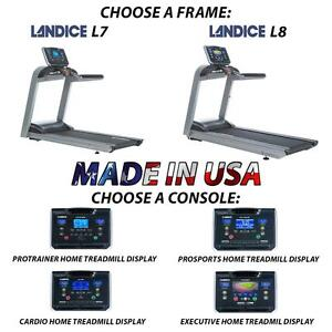 Landice Treadmill Suspension L7 L8 w/ Orthopedic Made in USA