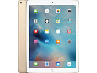 Apple ipad Pro 128gb 12.9inch wifi plus UNLOCKED Cellular data 4G plus APPLE warranty excellent