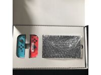 Nintendo Switch, 32GB Neon Red/Neon Blue Console (PAL) 4 Best Games & More